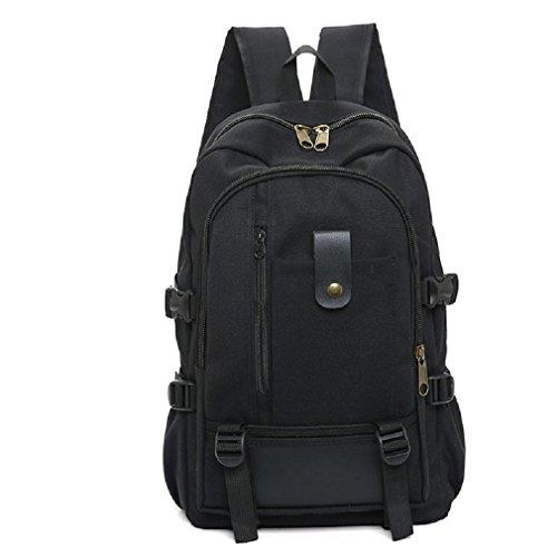 GAOJIAN Sacs à dos rétro Sac fourre-tout pour hommes à bas prix Sac à dos en toile Sac à dos Multi-sacs de randonnée en plein air Haut 46cm Largeur 30Cm , b