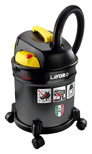 LAVORWASH Freddy Bidone Aspiracenere Aspirapolvere Aspiraliquidi e Soffiatore Potenza 1200 Watt