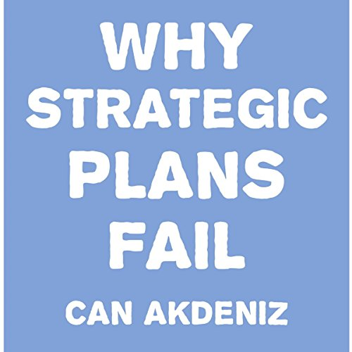 Why Strategic Plans Fail audiobook cover art