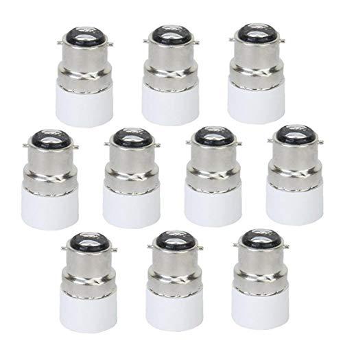 B22 à E14 Lumière Adaptateur Ampoule, B22 à vis E14 ampoule lampe adaptateur, B22 à E14 Adaptateur léger, B22 à base Socket Converter E14, B22 à lampe Base Socket E14 Convertisseur vis de réglage