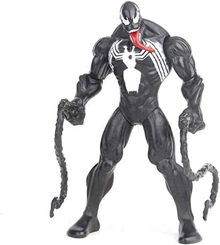 NoNo Kinder Anime Geschenke Figur Einzigartige Marvel Venom Spider-Man Venom Actionfigur (Blau) -Blau (Farbe: Schwarz)