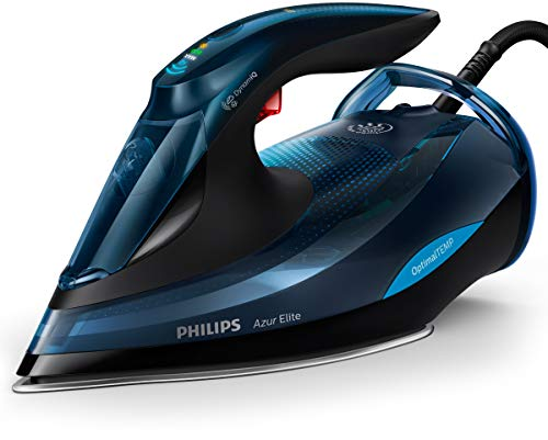 Philips GC5034/20 ferro da stiro Ferro a vapore SteamGlide Plus Nero, Blu 3000 W