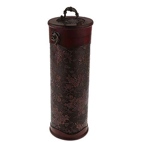SM SunniMix Vintage Weinflaschen Holzkiste Geschenkbox Weinbox - 1 Flasche A