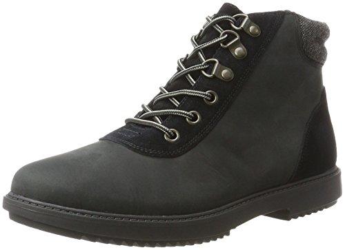 Clarks Damen Raisie Vita Stiefel, Schwarz (Black Leather), 36 EU