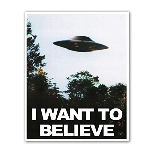 Kai'Sa I Want to Believe Poster Art Print Posters,8×10 inches Unframed Canvas Print