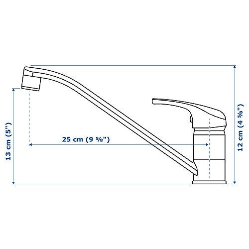 IKEA LAGAN Einhand-Mischbatterie für Küche; verchromt - 4
