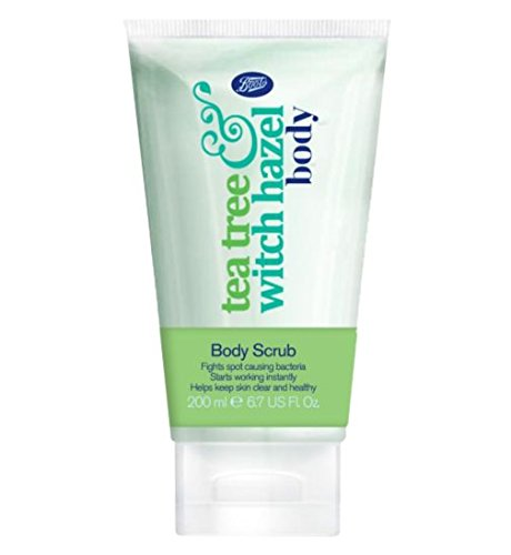 Boots Tea Tree and Witch Hazel Body Scrub 200ml