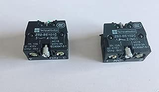 CHUN-Accessory - 100pcs TELEMECANIQUE ZB2-BE101C NO ZB2-BE102C NC Contact Block Replaces TELE 10A 400V