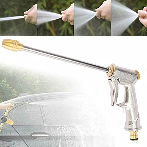 Garden Hose Nozzle,SXAURA High Pressure Metal Hose Nozzle ,Heavy Duty Car Wash Sprayer Gun,Handheld Water Hose Nozzle,Adjustable Water Pressure For Watering Plants, Washing Car (Wash Sprayer)