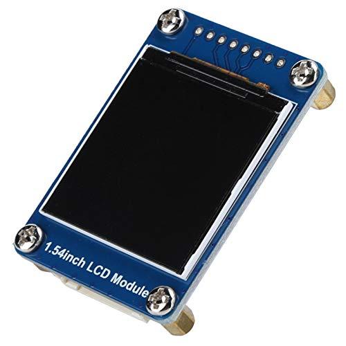 ST7789 Pantalla IPS duradera de 65 K colores Módulo de pantalla LCD de 1,54 pulgadas Pantalla LCD de 240x240 para placas de control principales compatibles con Pi / STM32