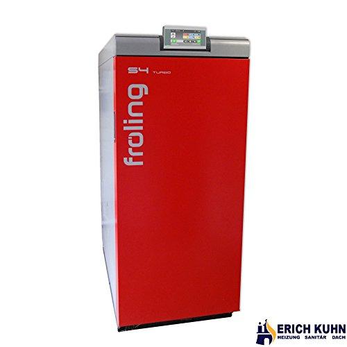 fröling Scheitholzkessel S4 Turbo 15 kW Holzvergaser mit Touch Display