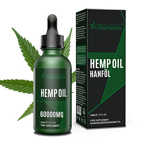 Best Combination Natural Hemp Seed Oil,Natural Ingredients,Non GMO (60ml-6000mg)