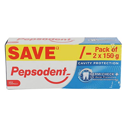 Pepsodent Germi Check Toothpaste - 150g (Pack of 2)
