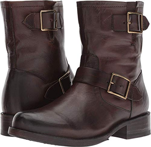 Frye Vicky Engineer Chocolate 6