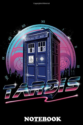 Notebook: Rad Tardis , Journal for Writing, College Ruled Size 6