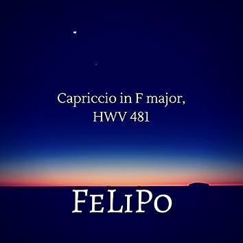 Capriccio in F Major, HWV 481
