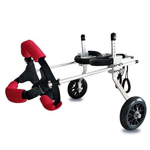 LOVEPET Hund Rollstuhl Lähmung Der Hinteren Gliedmaßen Behinderter Hund Hinterbeinhilfe Haustier Roller Hund Hilfsmittel S