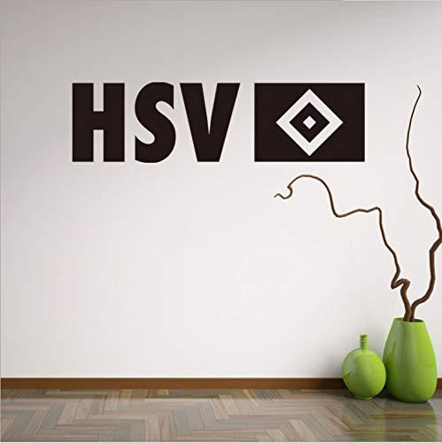 Wandaufkleber,Kreative Fußball Neue Englische Hsv Wohnzimmer Schlafzimmer Hintergrund Wandaufkleber