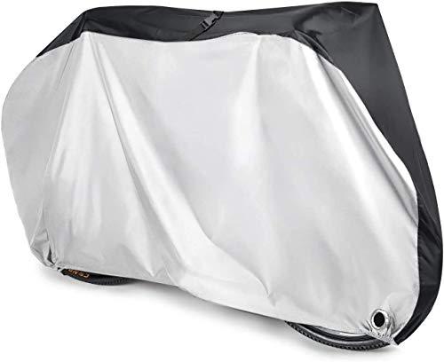 Aival Copri Bici, Copertura per Bicicletta, Proteggi Pioggia per Bici 190T Nylon Protezione Resistente a Pioggia UV Copertura Antipolvere per Mountain Bike con Sacchetto di Immagazzinaggio