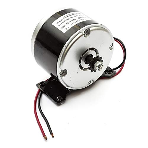 Electric Scooter Motor DC 36v 250w Brushed 36 Volt 250 Watt ZY1016 11T 6mm Sprocket Chain Drive
