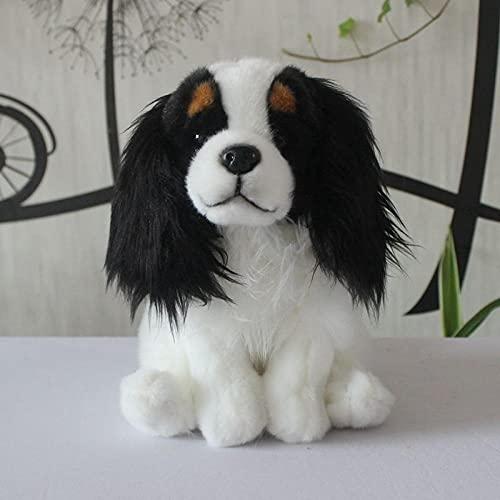 NC277 Simulación muñeca Beagle Cachorro Perro Juguete de Peluche de Tres Colores muñeca Cavalier King Charles Spaniel