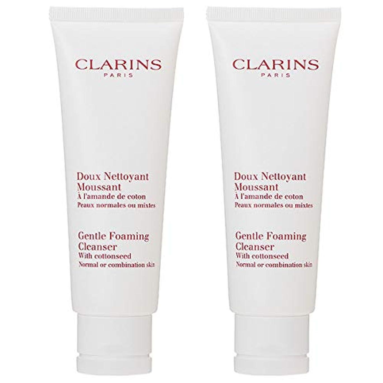 技術くちばしおとこ【セット】 クラランス CLARINS ジェントル フォーミング クレンザー ノーマル/コンビネーション 125mL 2本セット [並行輸入品]