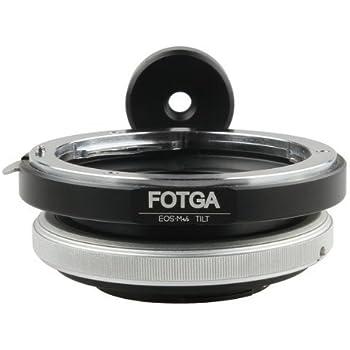 FOTGA Tilt Adapter für Canon EOS Objektiv zu Micro 4/3 M43 Kamera GH2 GF2 E-P3 E-PL3