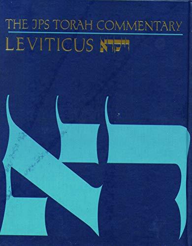 The JPS Torah Commentary: Leviticus