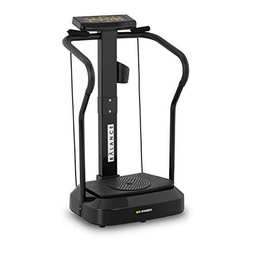Gymrex Pedana Vibrante Basculante Professionale Oscillante Fitness GR-MG38 (120 kg, Twister, 49,5 x 30 cm)