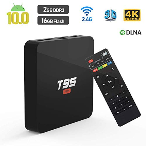 classement un comparer TUREWELL Android 10.0 TV Box, T95 Super TV Box Allwinner H3 Quad Core 2 Go de RAM 16 Go ROM Média…