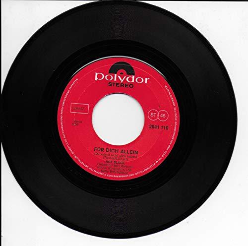 """Für Dich allein/Unendlich ist die Liebe (7"""" Vinyl Single)(1970)(Polydor 2041110)"""