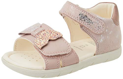 Geox Baby-Mädchen B ALUL Girl D Sport Sandal, LT ROSE, 23 EU