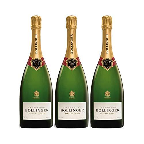 Champagne Special Cuvée - Bollinger - Rebsorte Pinot Noir, Chardonnay, Pinot Meunier - 3x75cl - Médaille d'Argent Decanter