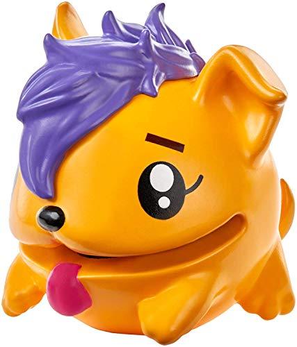 Pooparoos Surpriseroos Figures - Orange Purple Hair Dog