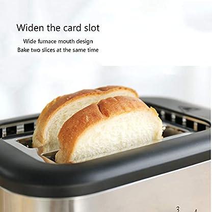 Retro-Toaster–2-Scheiben-Edelstahl-Extra-breiter-Schlitz-Wiedererwaermung-Abtauen-Abbrechen-Funktion-Toaster–mit-abnehmbaren-Kruemelschalen-5-Toasteinstellungen-Toaster-Silber