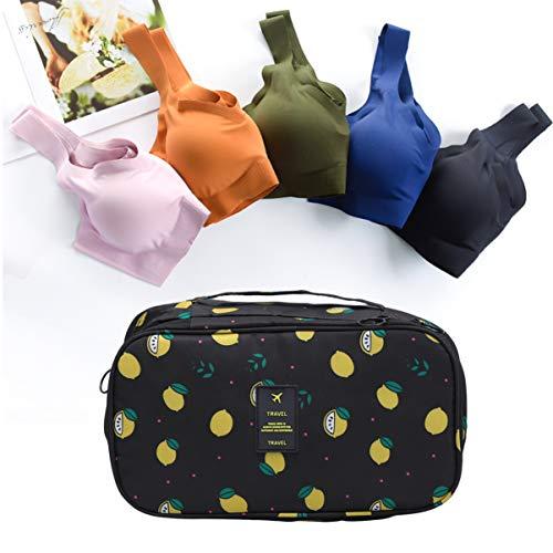 Cabilock Portable Travel organisator lingerie pharmaceutique cosmétique chaussettes cosmétique soutien - gorge sac de rangement voyage