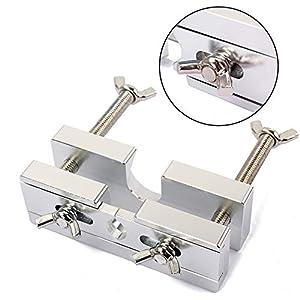 Allsunny Professioneller Verstellbarer Mundstück-Abzieher aus Messing für Trompete Multi