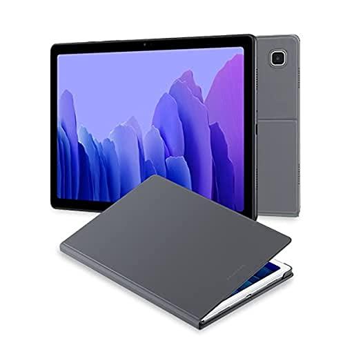 Samsung Galaxy Tab A7 Tablet de 10.4' FullHD (WiFi, Procesador Octa-Core Qualcomm Snapdragon 662, RAM 3GB, Almacenamiento 32GB) Gris [Versión española] + EF-BT500 Book Cover para Galaxy Tab A7, Gris