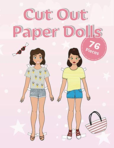 Cut Out Fashion Paper Dolls