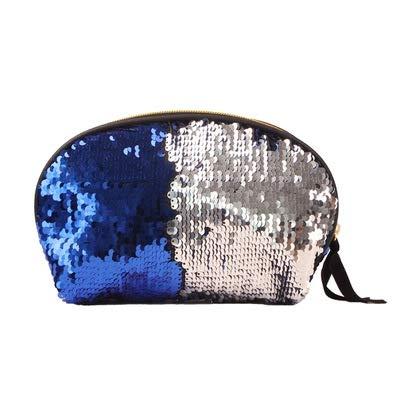 Bagage Paillettes Maquillage Sac Shellfish sirène Porte-Monnaie Fille Voyager téléphone Portable Sac (Couleur) Zys (Couleur : Blue)