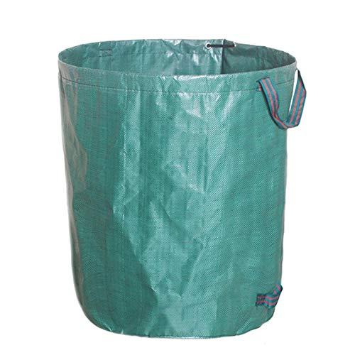 ZS ZHISHANG Bolsas de basura reutilizables para jardín, bolsas de jardín, bolsas de hierba de jardín, cubeta de almacenamiento al aire libre, bote de basura de camping