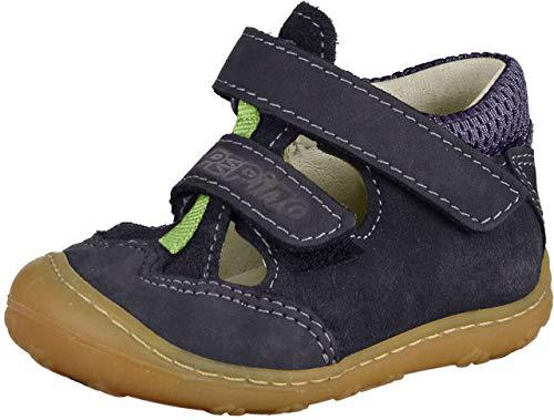 RICOSTA Unisex-Kinder EBI Hohe Sneaker, Blau (Nautic), 23 EU