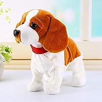 電子ペット音制御ロボット犬樹皮スタンドウォークかわいいインタラクティブおもちゃ犬電子ハスキーペキニーズ子供のプレゼント用