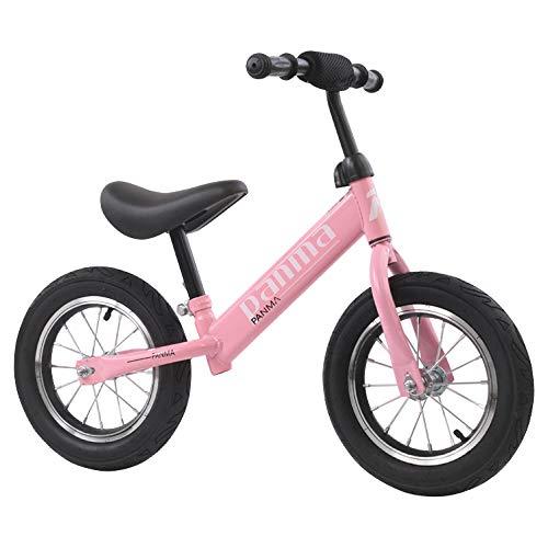 Pipeline?SURF BRAND キッズバイク キックバイク こども用 自転車 ペダル無し 軽量 アウトドア (ピンク)