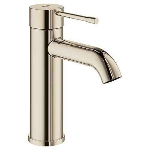 GROHE 23592BEA Essence Single-Handle Bathroom Faucet S-Size, Polished Nickel