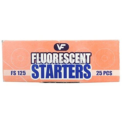 Wellco 125w Fluorescent Starter Box Of 25