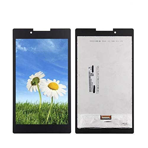 Display a Schermo Piatto Display LCD Touch Screen Digitizer Glass Assembly/Fit for Lenovo Tab 2 Tab2 A7-30HC A7-30 A7-30DC (Color : Black)