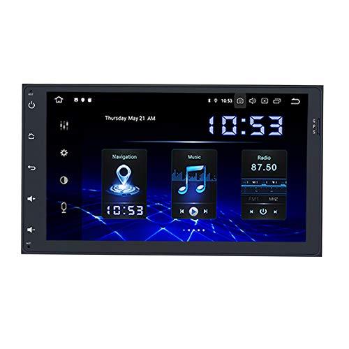 """Dasaita 9\"""" Android 10.0 Autoradio Mit Bluetooth Freisprecheinrichtung FüR Toyota Sienna 2015-2017 Toyota Universal 2014-2020 Autoradio Mit Navi 2 Din UnterstüTzung Wifi Dab+ Carplay Usb"""