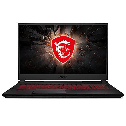 MSI GL75 Gaming Laptop: 17.3' 144Hz FHD 1080p Display, Intel Core i7-10750H, NVIDIA GeForce GTX 1660 Ti, 16GB, 256GB SSD + 1TB HDD, Win10, Black (10SDR-636)