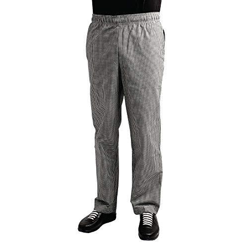 Whites Chefs Clothing A026T-XXL - Pantalones de teflón (polialgodón, talla XXL), diseño de cuadros